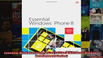 Essential Windows Phone 8 2nd Edition Microsoft Windows Development Series
