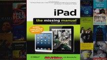 iPad The Missing Manual Missing Manuals
