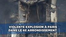Violente explosion à Paris dans le 6e arrondissement