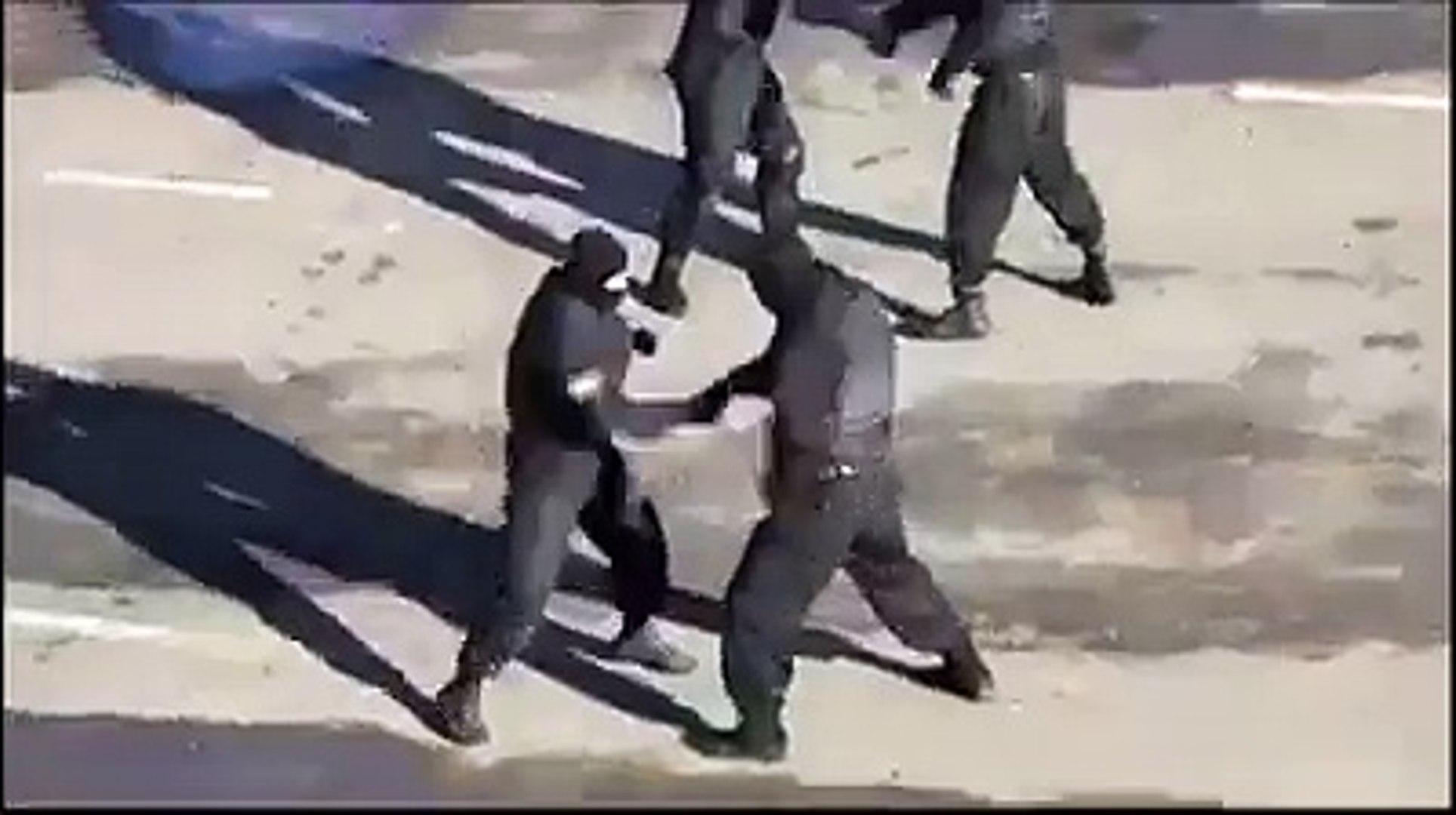 نار يا حبيبي نار فيديو مسرب للقوات الخاصة للحرس الوطني التونسية