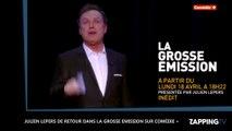 Julien Lepers déchaîné dans la bande-annonce de la Grosse Emission (Vidéo)