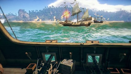 The first test of the sailing fleet de War Thunder