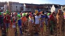 Les écoliers au Carnaval de la Lune