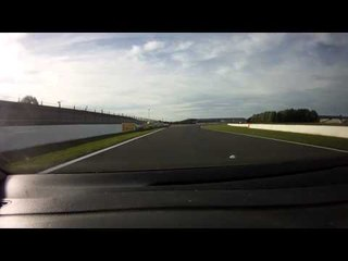 Magny-Cours World Superbike - The day before - GoPro onboard