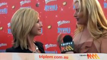 Olivia Newton-John on the red carpet of the Xanadu Premiere in Melbourne