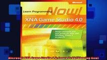 Microsoft XNA Game Studio 40 Learn Programming Now