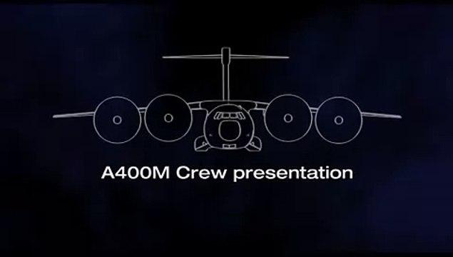 Airbus A400M Flight Test Crew Presentation