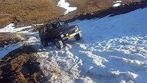Lada Niva Lebanon - Lada Niva off road on Ice