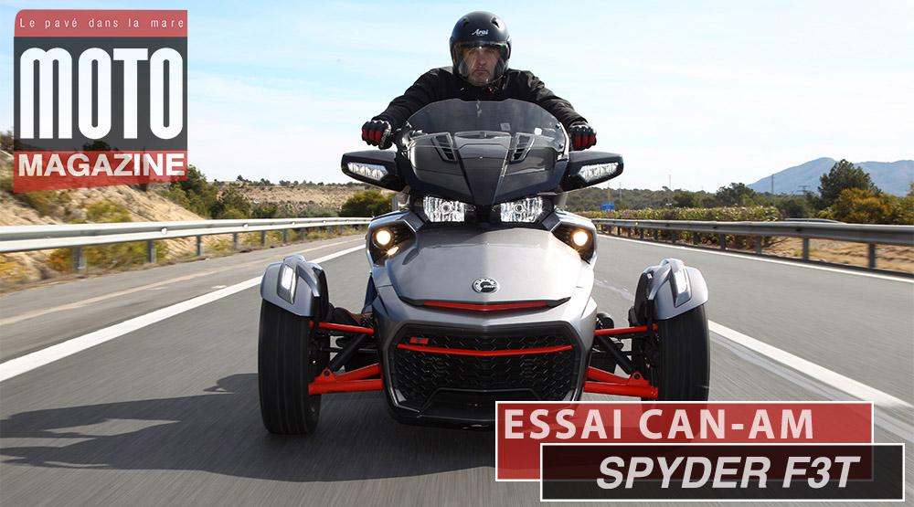 Can-Am Spyder F3T : le touring en baskets