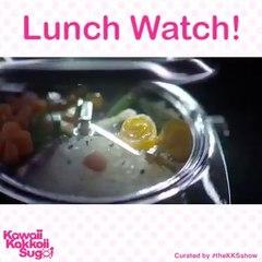 La montre Bento : c'est l'heure de manger !