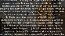 Joseph Flavius et les signes sur le Mont du Temple