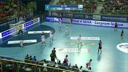 HC VARDAR vs. HC PPD ZAGREB SEHA GAZPROM LEAGUE FINAL4 2016 - SEMI FINAL MATCH2