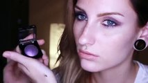 Get Ready With Me- Day to Night - GRWM Purple Smokey Eye Makeup Tutorial