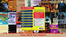 Read  JK Lassers Your Income Tax 2016 For Preparing Your 2015 Tax Return Ebook Online