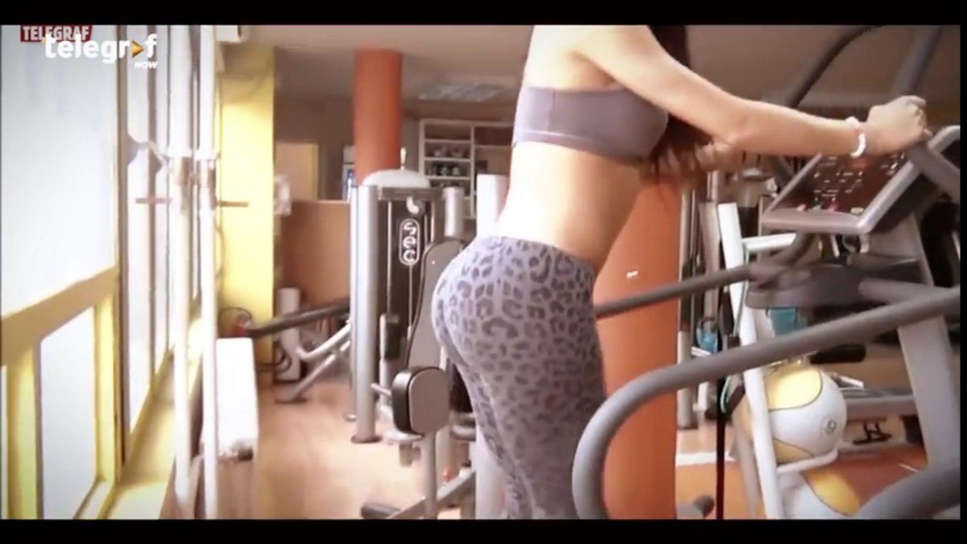 TOP 5 SEXY CICA U TERETANI - Hot sexy chicks at the gym