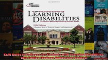 KW Guide to Colleges for Students with Learning Disabilities 10th Edition College