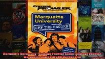 Marquette University  College Prowler Guide College Prowler Marquette University Off