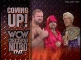 Ric Flair, Kevin Sullivan, Arn Anderson vs Hulk Hogan, Randy Savage & Booty-Man, WCW Monday Nitro 26.02.1996