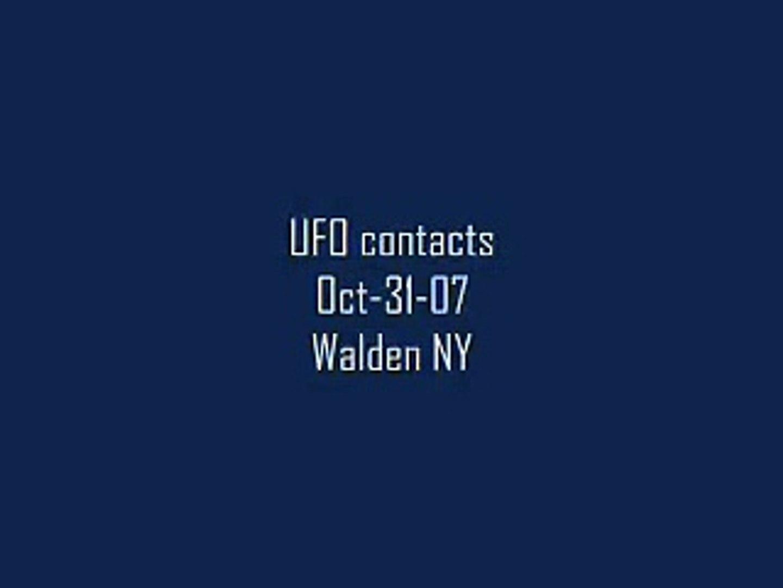 UFO draws near