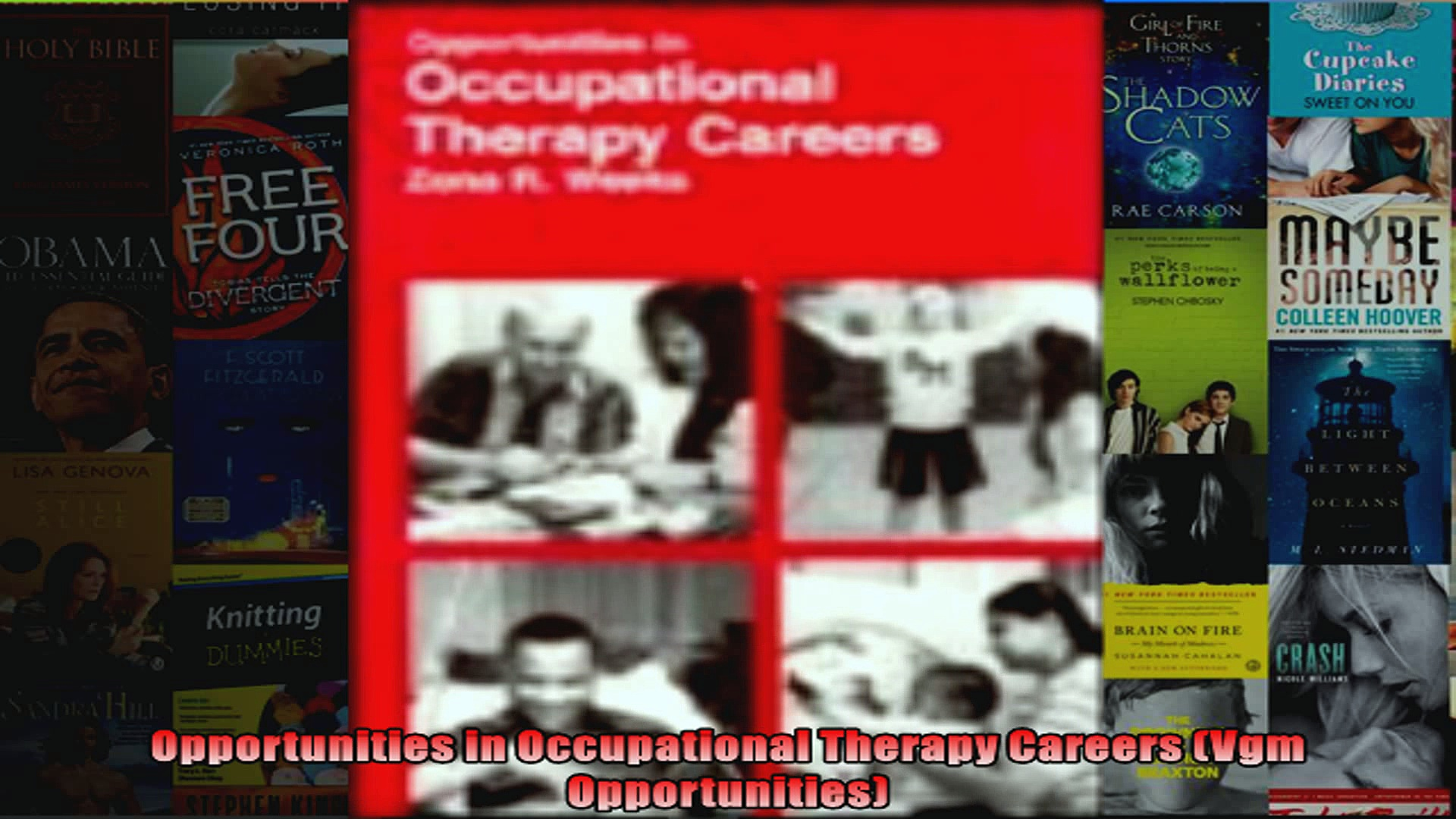 Opportunities in Occupational Therapy Careers Vgm Opportunities
