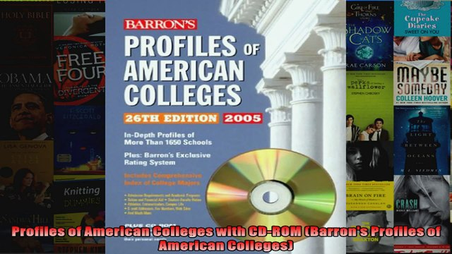 Profiles of American Colleges with CDROM Barrons Profiles of American Colleges