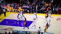 Kobe Bryant Monster DUNK on Matt Barnes!!