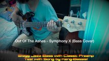 Out Of The Ashes - Symphony X (Bass Cover) on Stagg Jazz Bass with Classic Preamp by Keng-Bassist