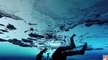 Massive US Submarines Broke Arctic Ocean Ice for Turns Outside
