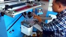 Round Screen Printing Machine Curved Screen Printer