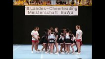 Black Scissors Cheerleaders Landesmeisterschaften Cheerleading Ba-Wü 2010