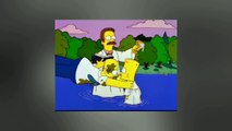 The Simpsons - Homer gets baptized (by Flanders)