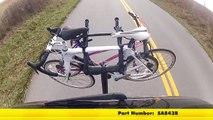 Review of the Saris Axis 3 Bike Rack on a 2014 Chevrolet Silverado 1500 - etrailer.com