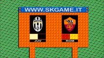 JUVENTUS vs AS. ROMA 1-0 - Lego Calcio Serie A 2015-16 - Goals Dybala - Highlights e Sintesi
