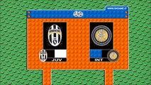 JUVENTUS-INTER 2-0 - Lego Calcio Serie A 2015-16 - Goal di Bonucci e Morata - Highlights e Sintesi