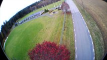 Another Windy Afternoon Flight - Onboard Hobbyking Skymaster