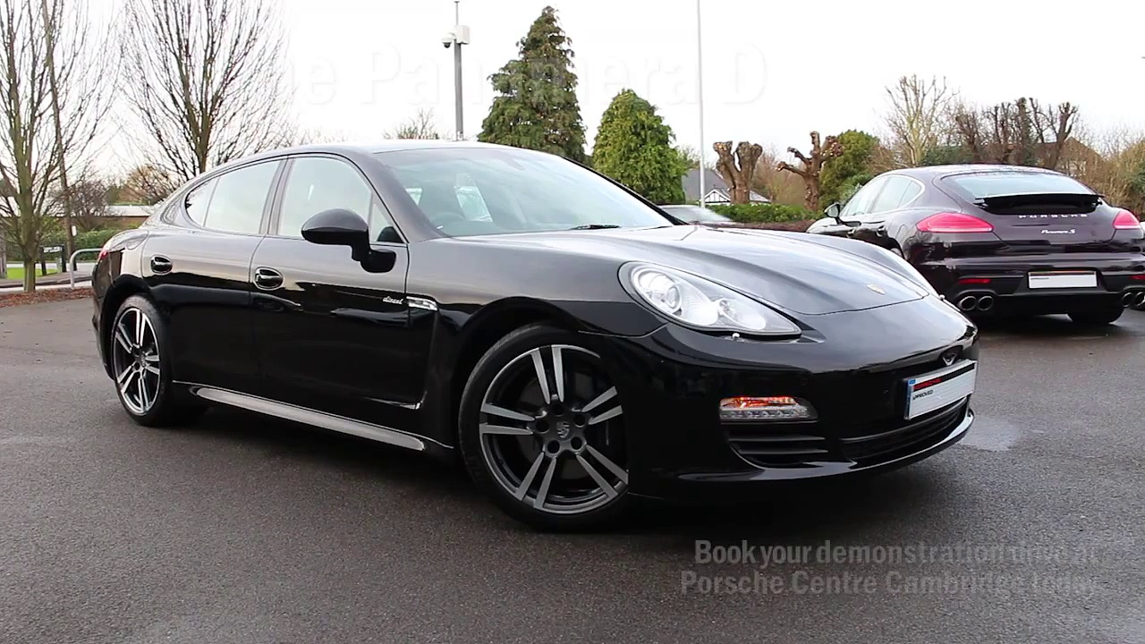 Porsche Panamera D | Porsche Centre Cambridge