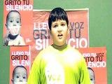 Los niños de Málaga dan voz al mundo