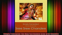 Read  Simply Translated The Holy Text Booklet Sree Sree Chandee  Full EBook