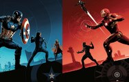 New Beautiful AMC Captain America Civil War Posters and New Clips!