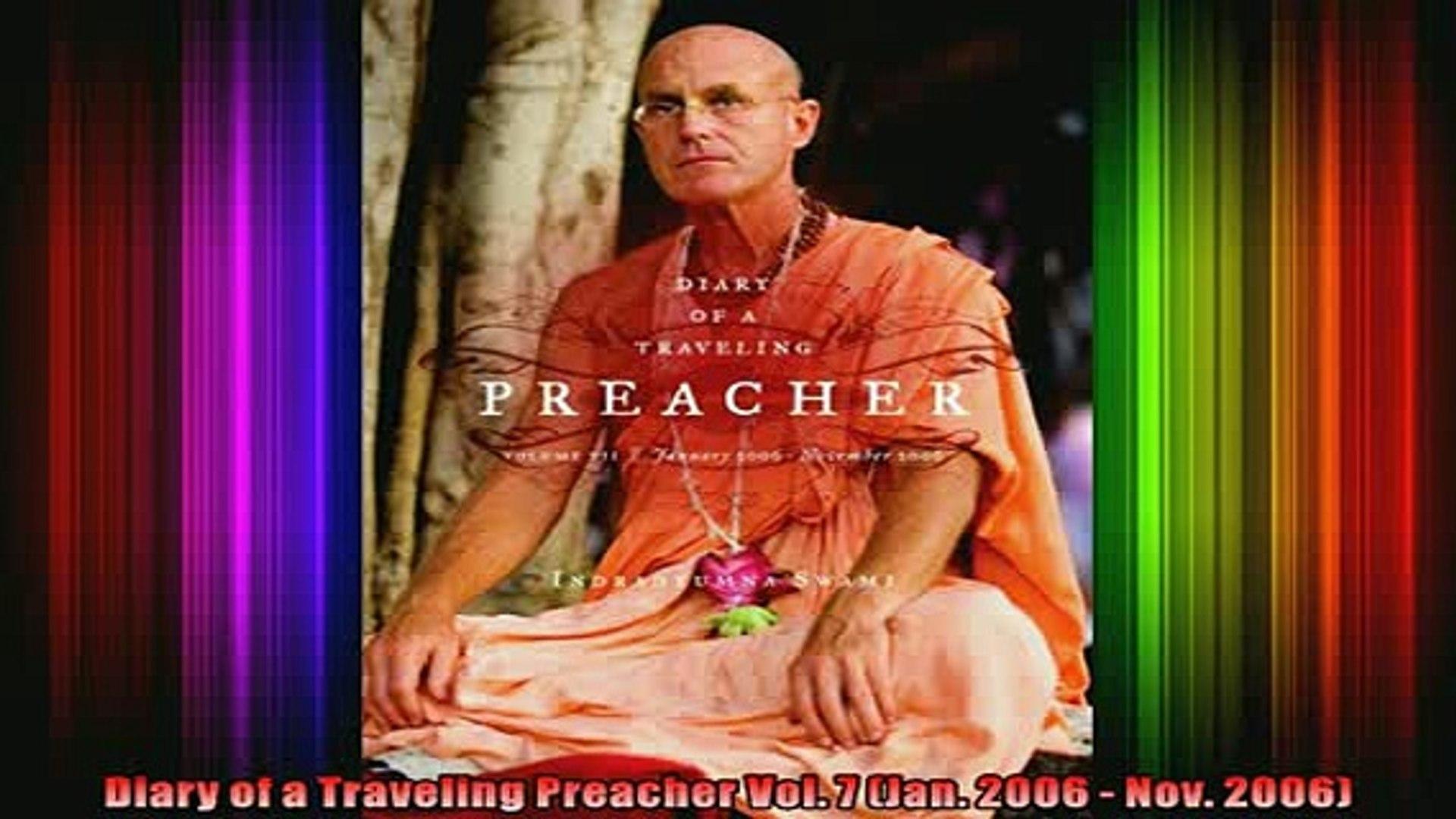 Read  Diary of a Traveling Preacher Vol 7 Jan 2006  Nov 2006  Full EBook