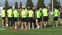 Akhisarspor, Beşiktaş Maçı Hazırlıklarına Başladı - Cihat Arslan Röp.