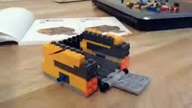Making Wall e Lego time-lapse (only bottom of Wall e)