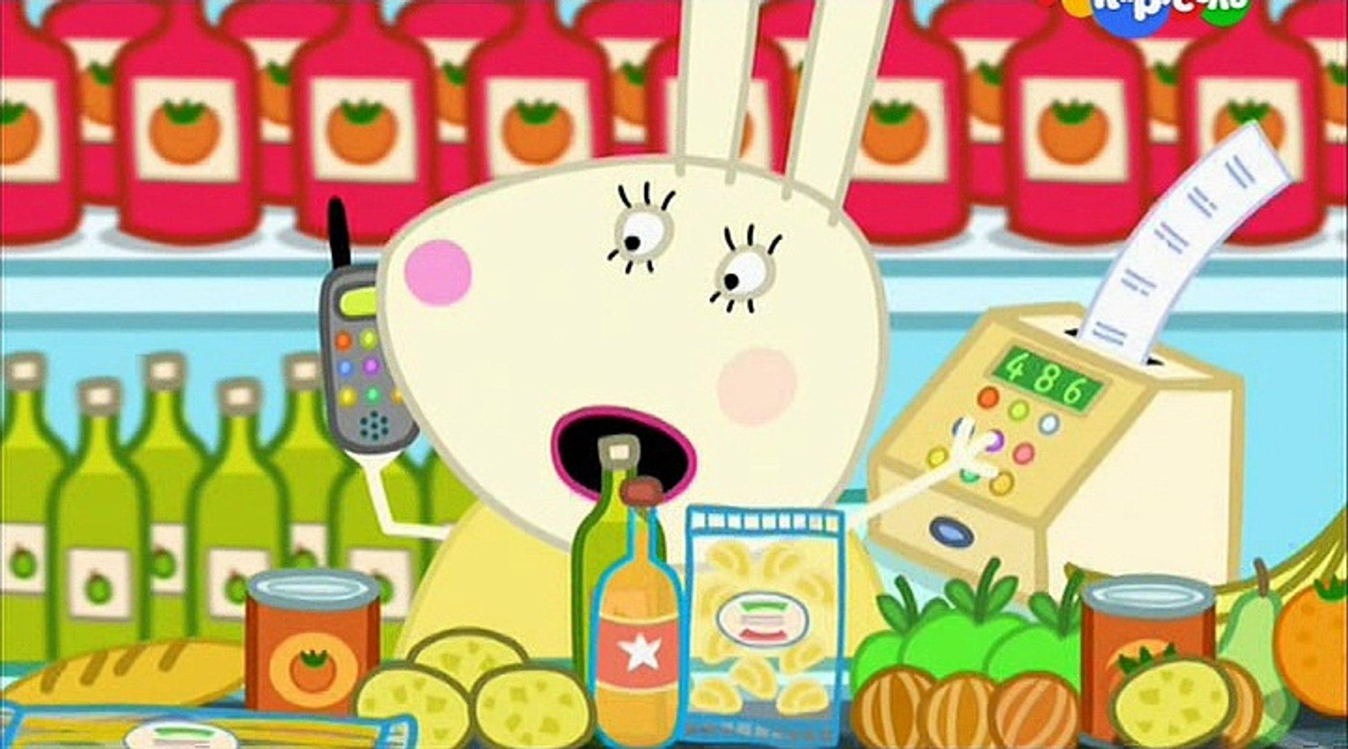 Свинка Пеппа- У мисс Кролик выходной- Miss Rabbit's Day Off -Все серии подряд Свинка Пеппа