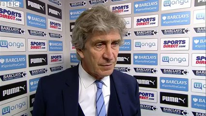Newcastle United 1-1 Manchester City - Manchester City 'just trying to add points' - Pellegrini