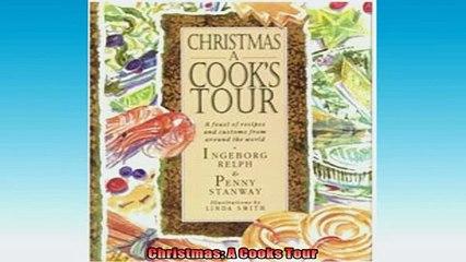 FREE PDF  Christmas A Cooks Tour READ ONLINE