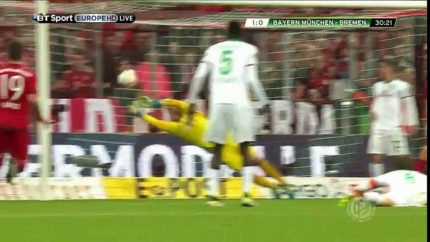 Bayern Munich vs Werder Bremen Video Highlights & All Goals