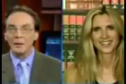 ann coulter Gutted by Liberal Journalists Katie Couric, Matt Lauer and Alan Colmes