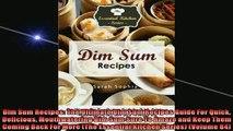 Free PDF Downlaod  Dim Sum Recipes The Ultimate Dim Sum Recipes Guide For Quick Delicious Mouthwatering Dim READ ONLINE