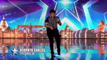 Roberto has some serious ball skills - Week 2 Auditions - Britain's Got Talent 2016