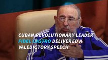 Fidel Castro Urges Cuba's Communist Party to Fight On in Farewell Speech